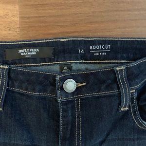 Simply Vera Vera Wang Jeans - Gorgeous Like New Simply Vera Vera Wang Jeans ❣️